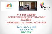 Otizm Riskli Bebekler Eğitim Programı (ORBEP)-BODRUM