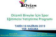 Otizmli Bireyler İçin Spor Eğitimcisi Yetiştirme Programı-ANKARA