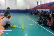Gaziantep'te Spor Eğitmeni Eğitici Eğitimi Gerçekleştirdik