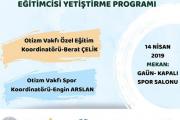 Gaziantep'te Otizmli Bireyler İçin Spor Eğitimcisi Yetiştirme eğitimi düzenleyeceğiz
