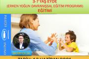 3-7 yaş EYDE(Erken Yoğun Davranışsal Eğitim Programı) Zoom-Online Eğitim(haziran)